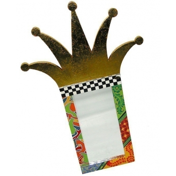 Дизайнерское зеркало «Корона» от Томаса Хоффмана, Германия.