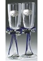 Два бокала для шампанского «Кольца»