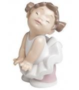 Фарфоровая статуэтка «Балетная позиция»