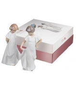 Набор фарфоровых статуэток «Застенчивая и Милашка»