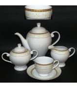 Чайный сервиз «Золотая лилия»