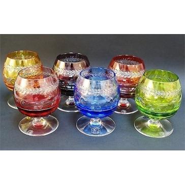 Подарочный набор из 6-ти хрустальных бокалов для бренди «Chenonceaux»