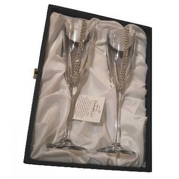Набор из 2-х бокалов для шампанского «Конус»