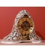 Настольные часы «Серебряный узор»