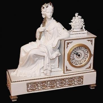 Часы «Империя» механический подзавод, Tiche, Италия.