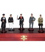 Оловянные миниатюрные фигурки «Немецы II мировая война»