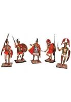 Оловянные миниатюрные фигурки «Греки»