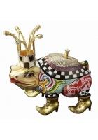 Статуэтка-шкатулка лягушка