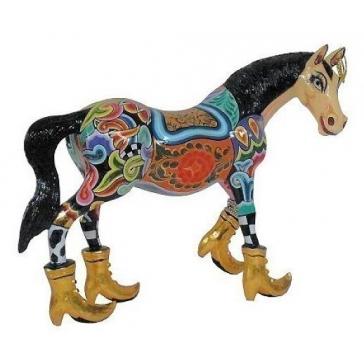 Статуэтка конь «Гром» от Томаса Хоффмана, Германия.