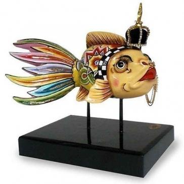 Статуэтка «Золотая рыбка» от Томаса Хоффмана, Германия.
