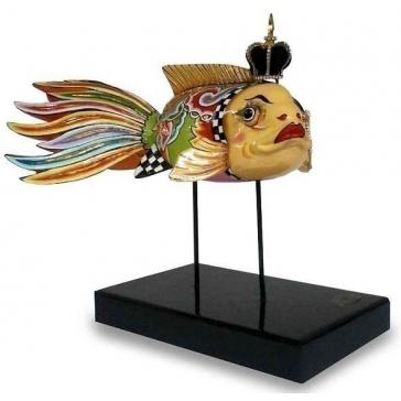Дизайнерская фигурка «Золотая рыбка»