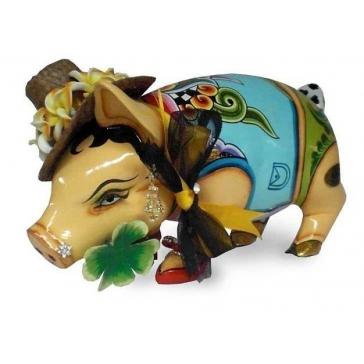 Копилка-свинка ручной работы от Томаса Хоффмана, Германия.