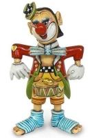Статуэтка «Клоун, играющий на барабане»