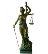 Бронзовая статуэтка «Справедливая Фемида»