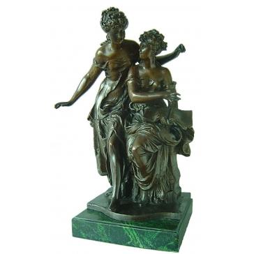 Бронзовая статуэтка «Романс»