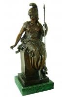 Бронзовая статуэтка «Афина — воительница»