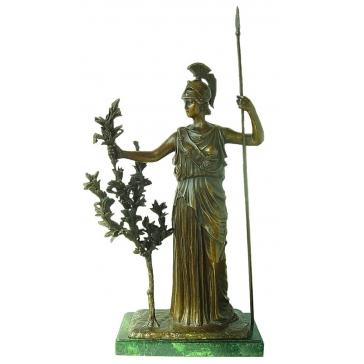 Бронзовая статуэтка «Афина Паллада»