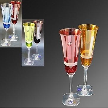Набор хрустальных бокалов для шампанского «Sirius», Франция