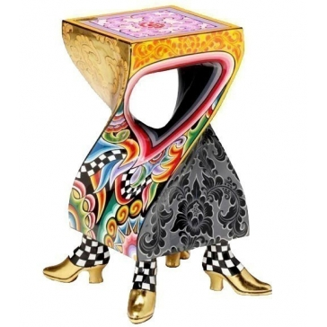 Колонна декоративная. Столик от Томаса Хоффмана.