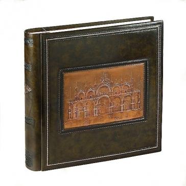 Кожаный фотоальбом «Собор Сан Марко»