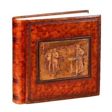Кожаный фотоальбом «Данте и Беатриче»