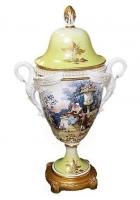 Фарфоровая ваза для цветов «Романтическая встреча»