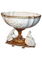 Фарфоровая ваза для фруктов «Романтика»