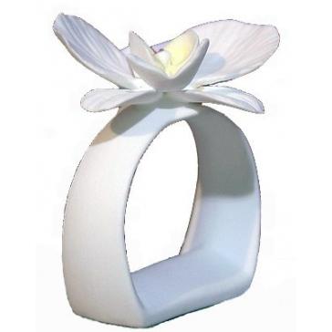 Кольцо для салфеток «Орхидея», костяной фарфор