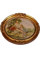 Настенный медальон «Сельский пейзаж»