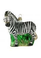 Елочная игрушка «Зебра»