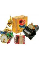 Набор елочных игрушек «Музыкальные инструменты»