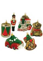 Набор елочных игрушек «Старые игрушки»