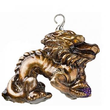 Елочная игрушка «Китайский дракон»