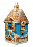 Елочная игрушка «Дом»
