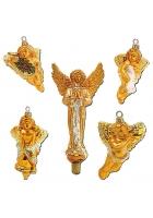 Набор из 4-х игрушек и макушки «Ангелы»