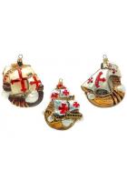 Набор елочных игрушек «Каравеллы Колумба»
