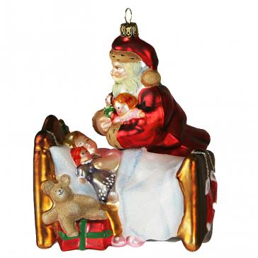 Елочная игрушка «Подарки от Санты», Komozja Family - Польша