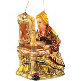 Польская елочная игрушка «Совершенная красота», ручная работа