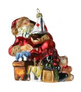 Елочная игрушка «Кораблик от Санта»