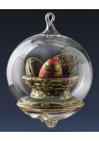 Елочная игрушка-глоб «Царские сокровища»
