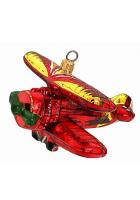 Елочная игрушка «Аэроплан»