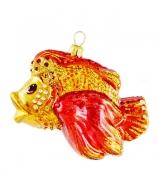 Елочная игрушка «Золотая рыбка»