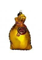 Елочная игрушка «Мешочек с деньгами»