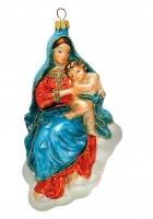 Елочная игрушка «Мадонна с младенцем»