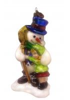 Елочная игрушка «Снежный друг»