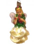 Елочная игрушка «Цветочная фея»