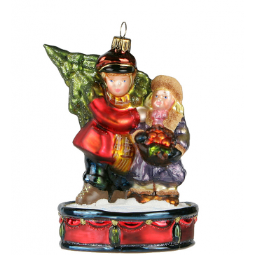 Ёлочная игрушка Komozja & M.A. Mostowski «Дети с ёлкой»