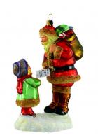 Елочная игрушка «Дорогой, Санта!...»