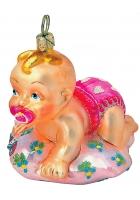 Елочная игрушка «Малышка»