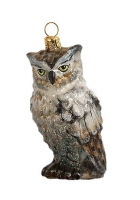 Елочная игрушка «Умная сова»